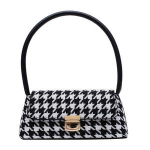 Tahlia Bag - BLACK GINGHAM