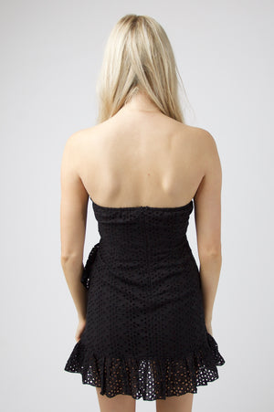 Sunshine Tube Dress - BLACK