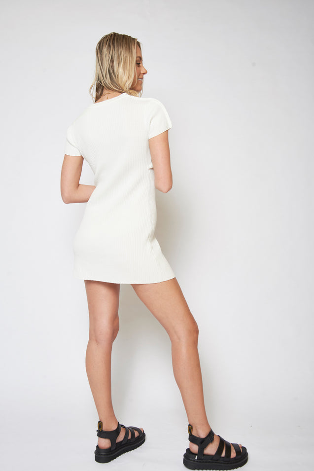 Chloe Dress - WHITE