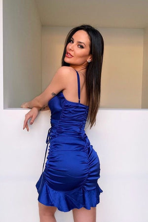 Avery Dress - ROYAL BLUE