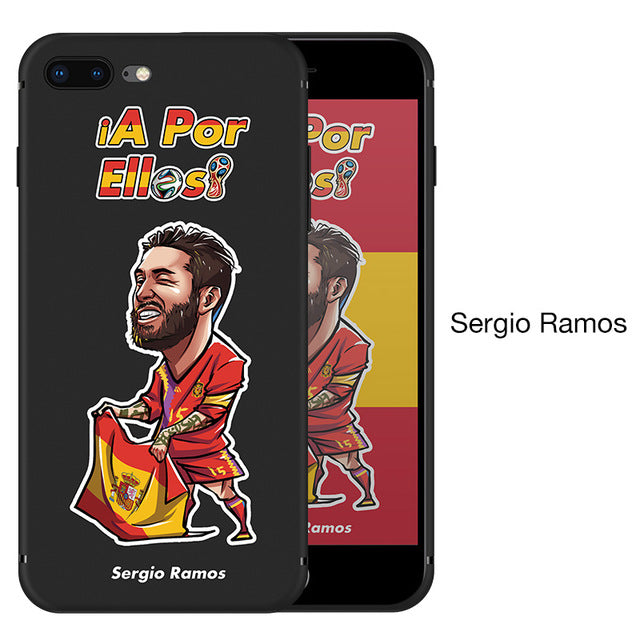 World Cup Cartoon iPhone Cases
