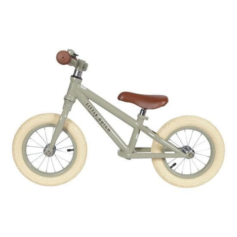 Little Dutch Balance Bike - Olive - Laufrad - dadu.ch (4581092327484)