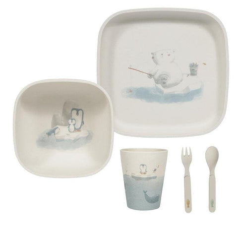 Little Dutch - Kindergeschirrset, 5er-Set Polar - Kindergeschirr - dadu.ch (4622785151036)