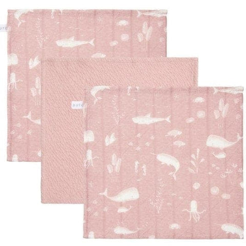 Little Dutch Mundtücher Set - Ocean Pink - Waschlappen - dadu.ch