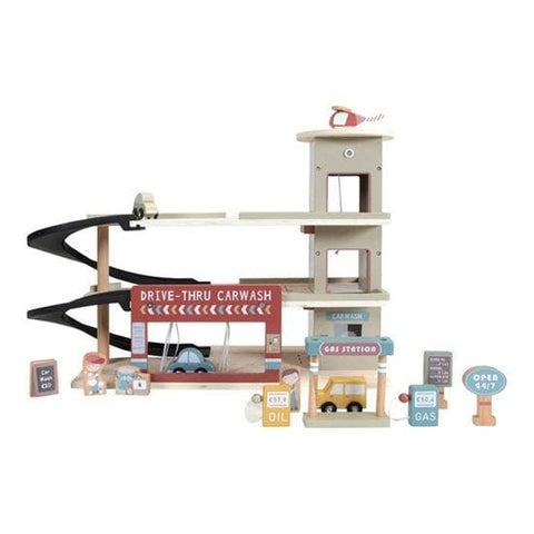 Little Dutch Parkhaus - Little Railway Collection - Holzspielzeug - dadu.ch