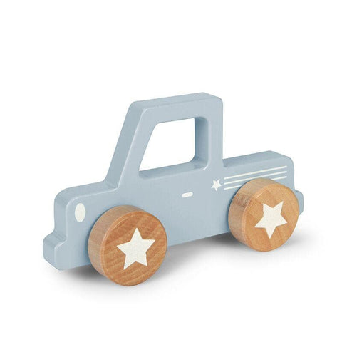 Little Dutch Pick-up Holz - Blau - Spielzeug - dadu.ch (4419365404732)