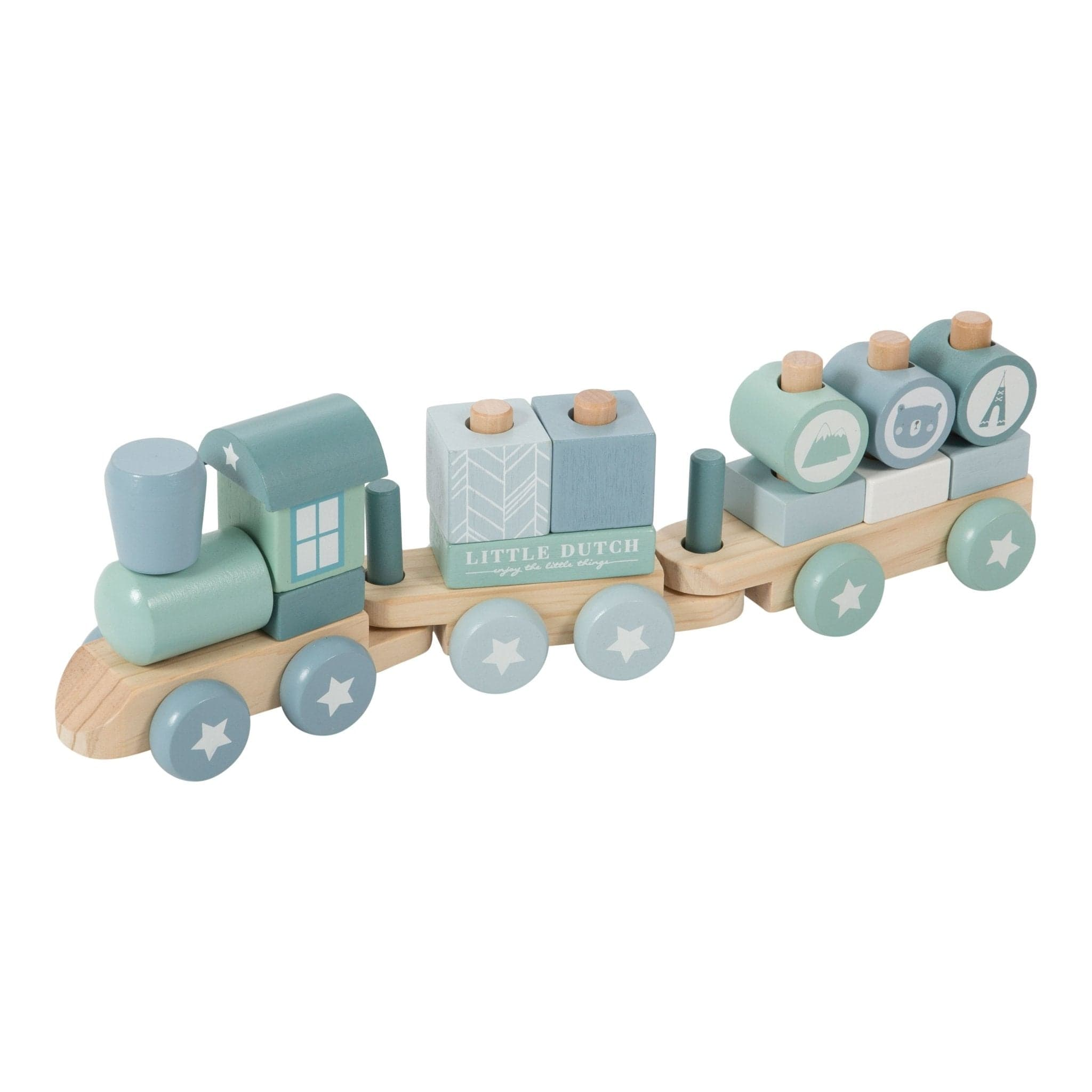 Little Dutch Zug - Adventure Blue - Spielzeug - dadu.ch (4511446564924)