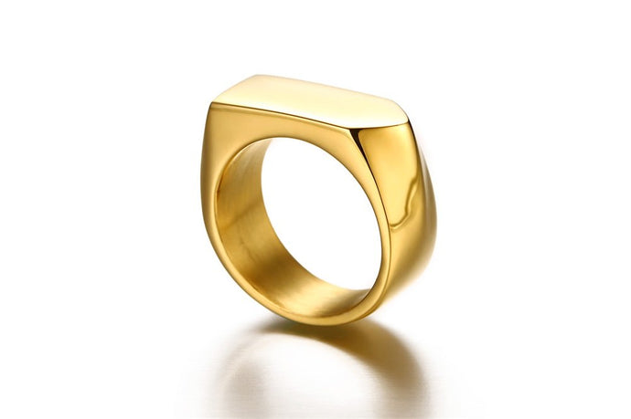 Prestige Geo Ring (Gold)