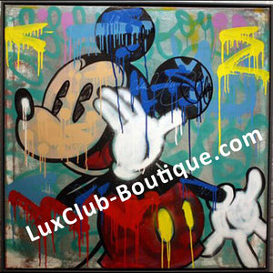 Pop Graffiti Art - Mickey Mouse