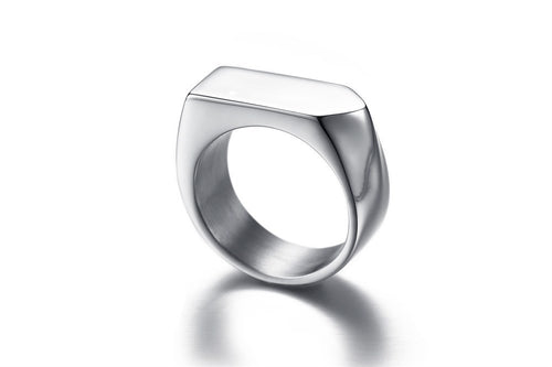 Prestige Geo Ring in Silver
