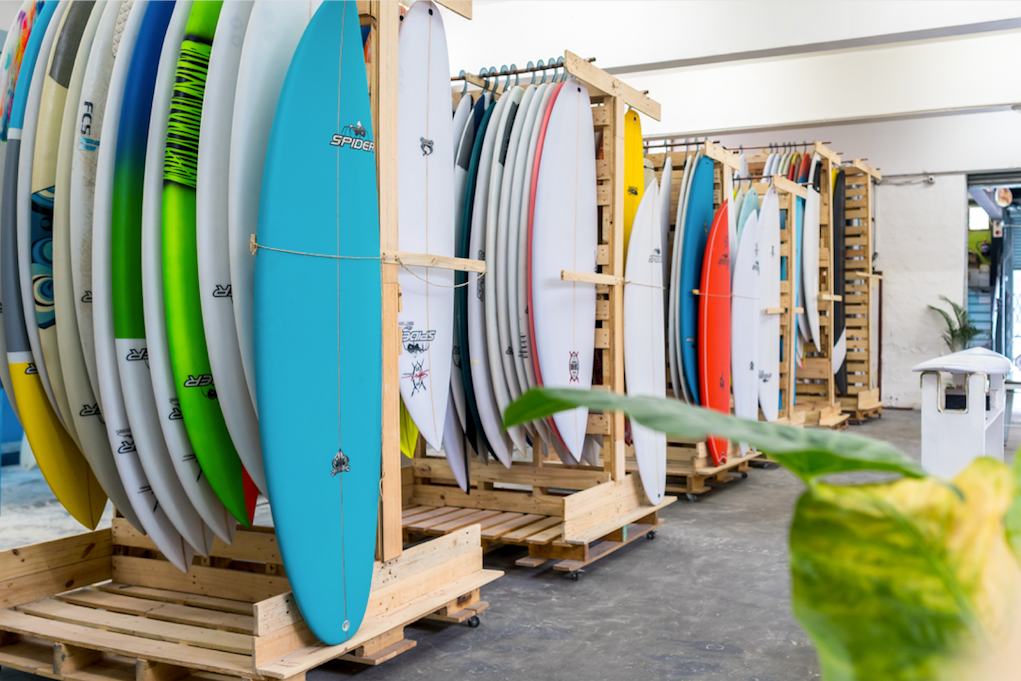 Surfboard exports and surfboard manufacturing