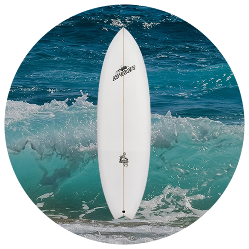 FISH BOMB - Fish - Retro - Shortboard