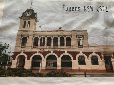 Forbes Post Office - Tea Towel