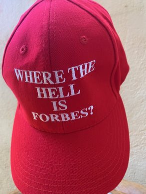 Where the hell is FORBES - RED
