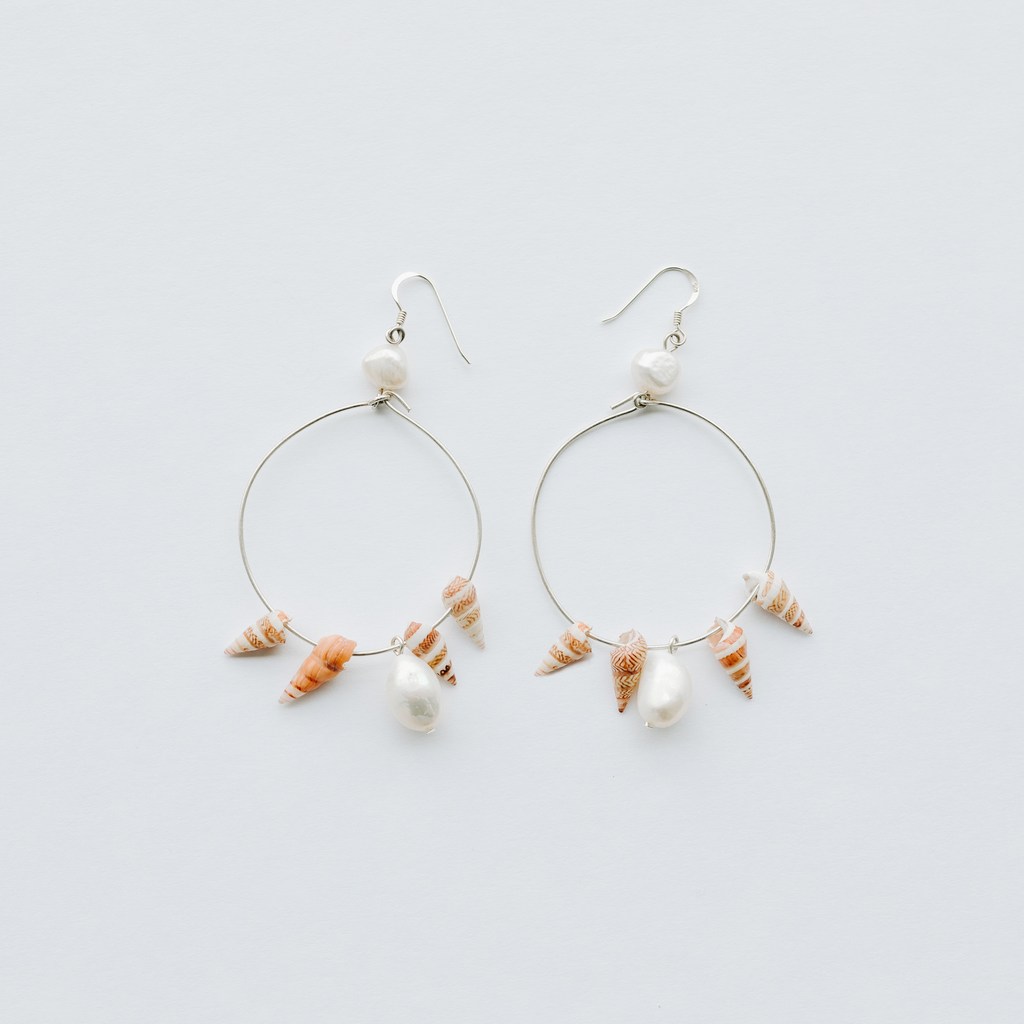 Bana - hoop earrings