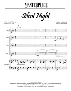Silent Night (Soloist, Horn, Flute, Synth., Piano)