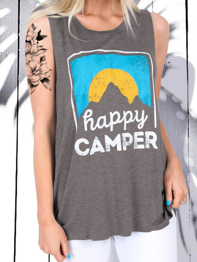 Happy Camper Tank Top - g-boxes
