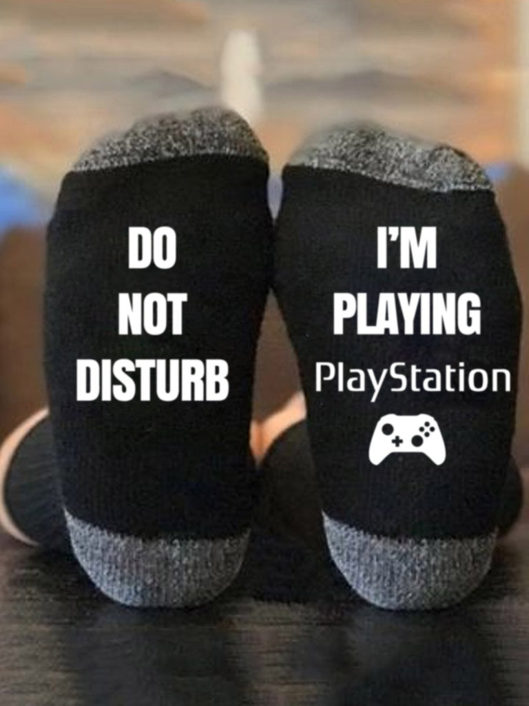 Do Not Disturb I'm Playing Playstation - g-boxes