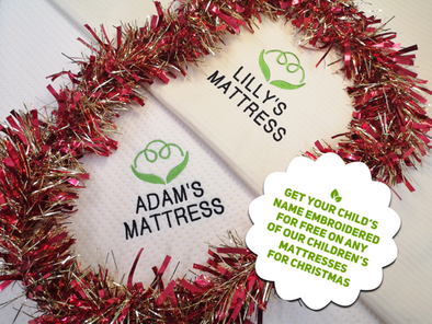 Personalised Children's Mattresses for Christmas