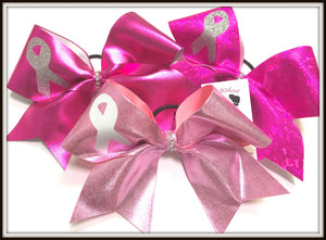 Awareness Ribbon Cheer Bow | Customize Colors | Awareness Cheer Bow