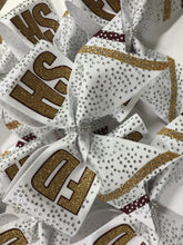 Load image into Gallery viewer, Rhinestone Competition Cheer Bow  |  NWAB Exclusive
