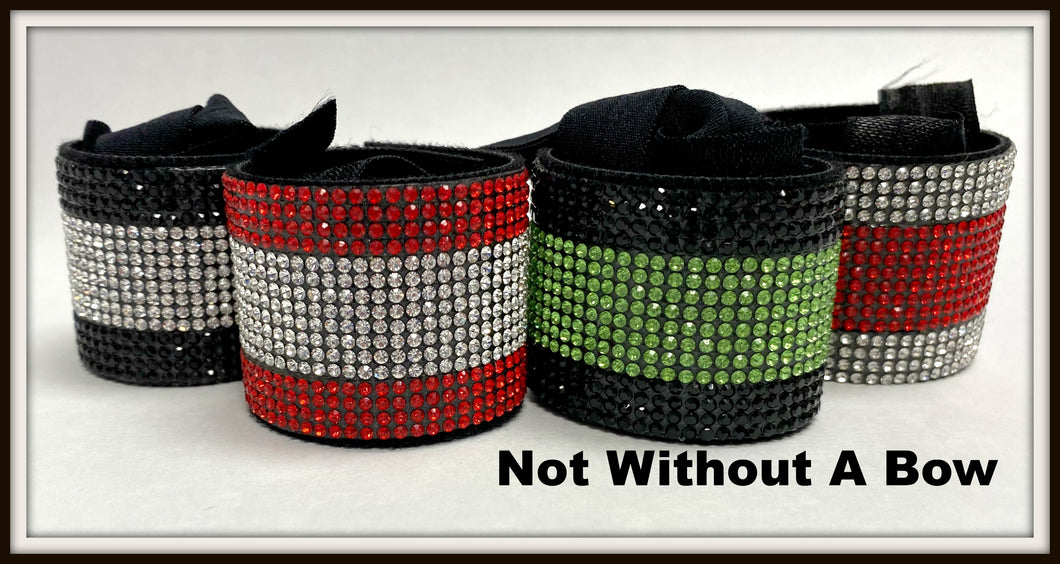 Rhinestone PonyTail Cuff - Double Color