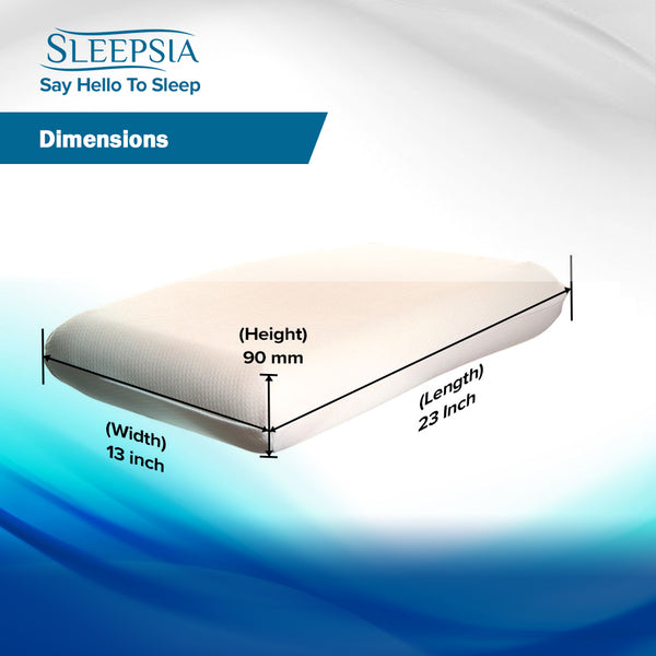 Sleepsia Memory Foam Pillow Amazon India