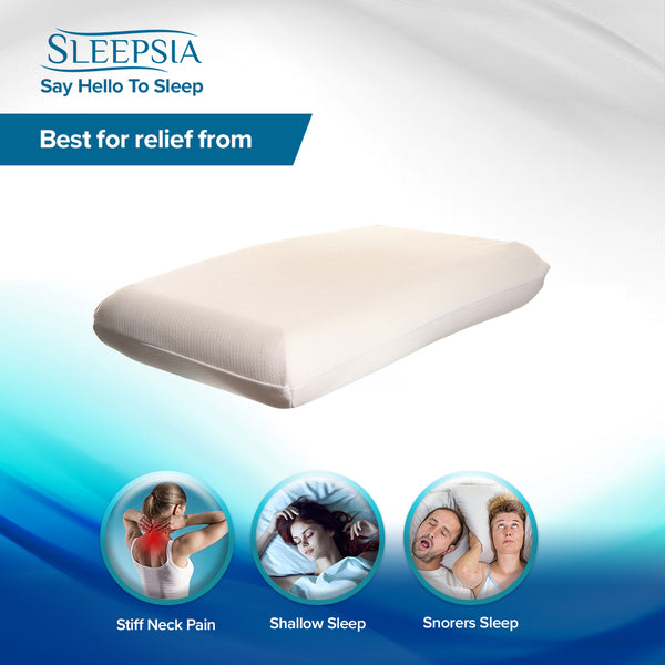 Best Gel Memory Foam Pillow for Side Sleepers and Back Sleepers