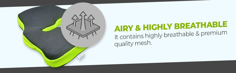 Airy & Highly Breathable