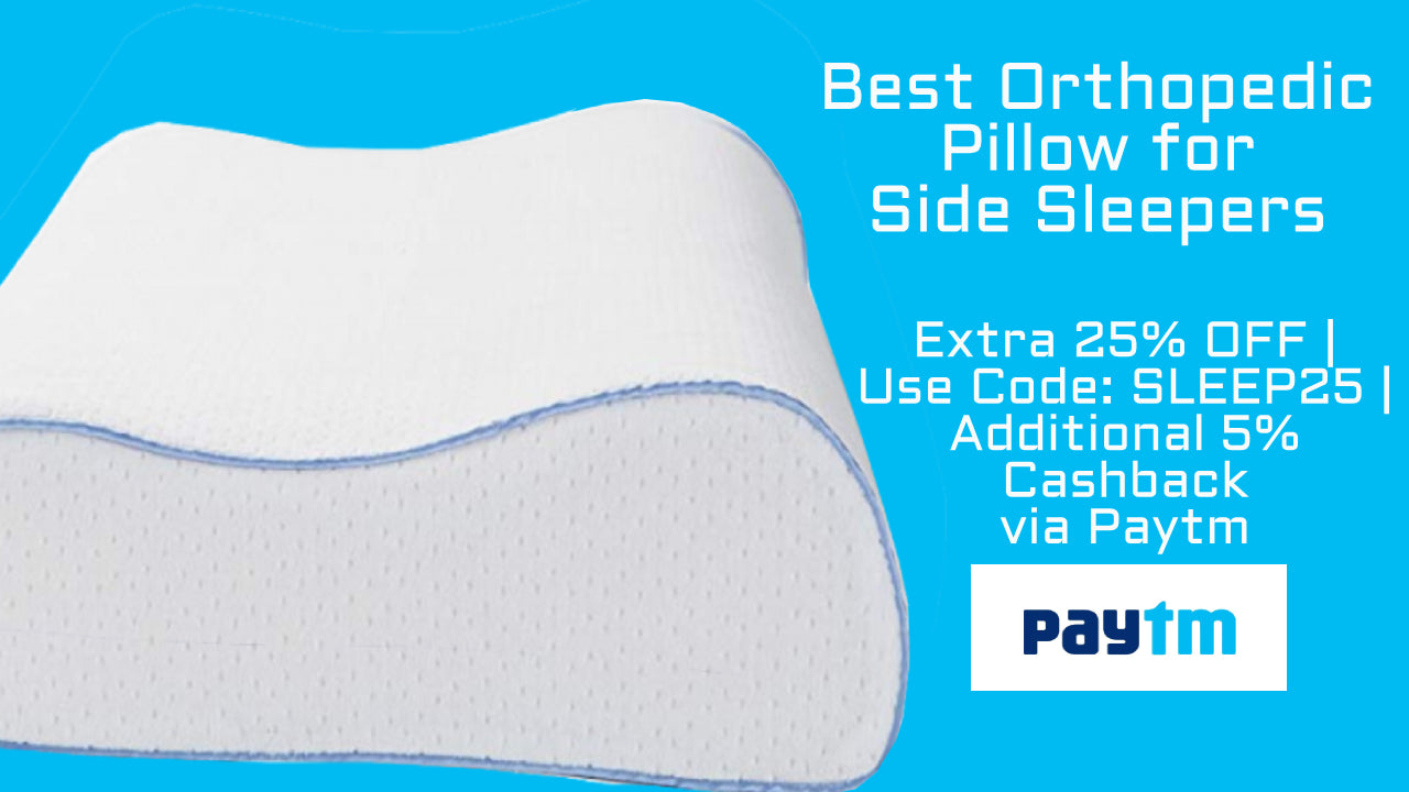 What Is The Best Orthopedic Pillow For Side Sleepers Sleepsia