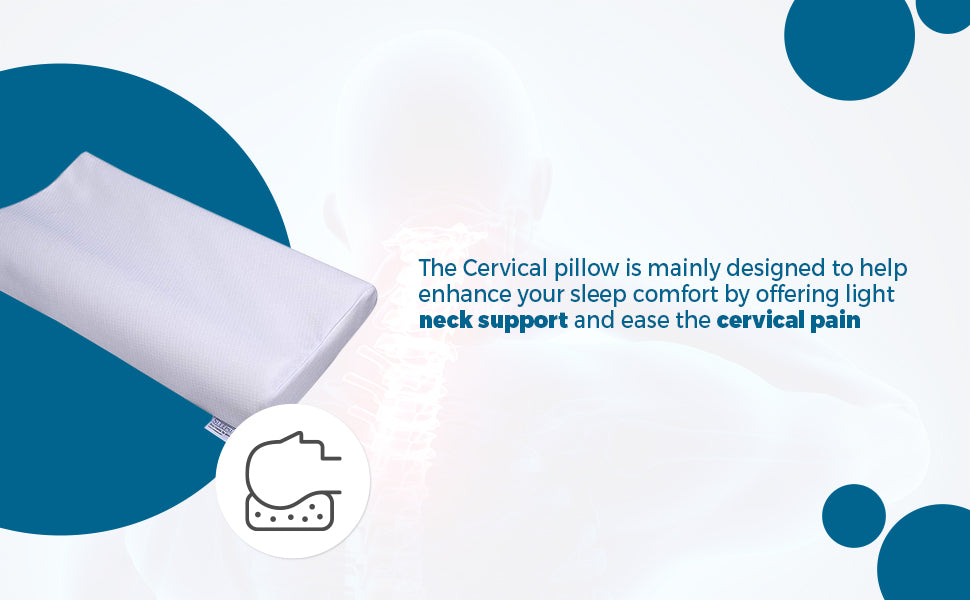 Cervical Memory Foam Pillow Without Gel