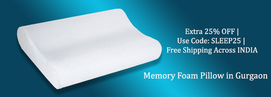 Memory Foam Pillow in Gurgaon