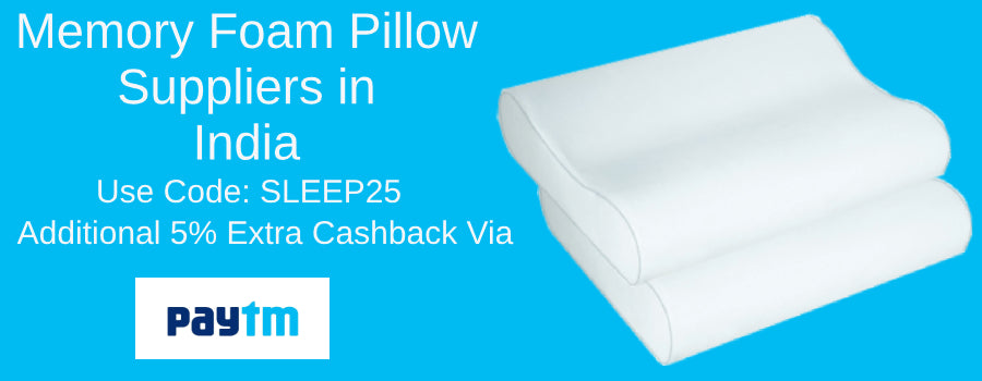 Memory Foam Pillow Suppliers in India
