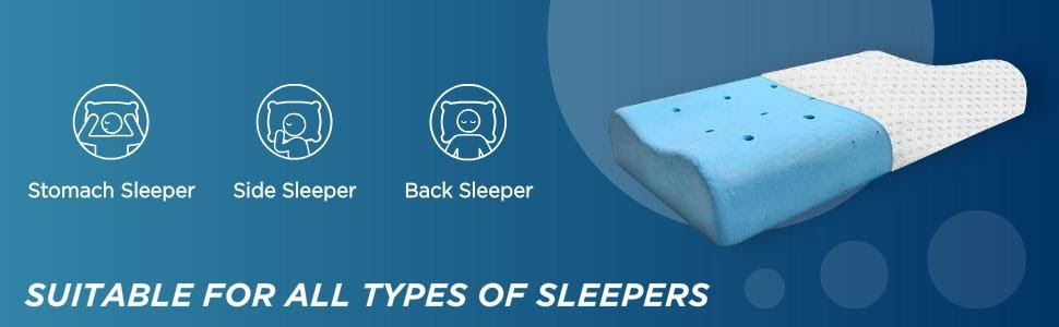 Suitable for All Types of Sleepers