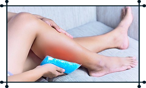 Use Ice Pack and Heating Pad