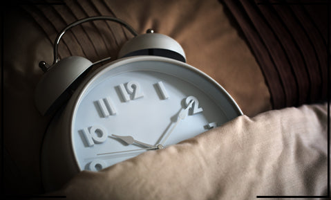 fix a time to go to bed daily