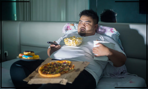overeating in the evening