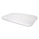 "Sleepsia Thin Size Gel Infused Memory Foam Pillow for Sleeping Cervical,Neck Pain and Orthopedic Problems - 23.5""x15.5""x3"", Bamboo Fabric"