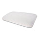 "Thin Gel Infused Memory Foam Pillow for Cervical & Neck Pain - 23.5""x15.5""x3"", Off White Grid Fabric"