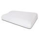 "Premium Gel Infused Thick Memory Foam Pillow for Neck Pain- 23""x13.5""x4.5"", Embossed White Fabric"
