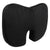 Sleepsia U Shaped Coccyx Orthopedic Foam Seat Cushion for Relief from Sciatica and Hip Pain, Multi-use for Car, Wheelchair - Velvet Black