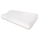 "Premium Gel Infused Medium Contour Pillow for Cervical & Neck Pain- 23""x12""x4"", Off White Grid Fabric"