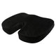 U Shaped Coccyx Orthopedic Foam Seat Cushion for Relief from Sciatica and Hip Pain - Velvet Black
