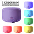 ReNe-Maurice Humidifier & Aroma Diffuser Ultrasonic, 2 In 1 With 500 ML, 7 Color Change Lights - Free  One Pc  15ML Aroma Essential Oil Bottle
