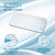 Sleepsia Thin Size Gel Infused Memory Foam Pillow for Sleeping Cervical,Neck Pain and Orthopedic Problems - 23.5
