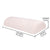 Half Moon Multi-Purpose Memory Foam Pillow - for Back Pain Relief, Shoulder & Neck Pain-Grid Fabric