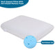 Electronic Pillow Neck Back Shoulder Heat Pillow Deep Kneading Massager For Car Home Office Massager