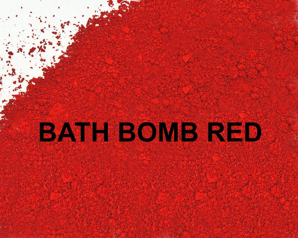 Bath Bomb Red 40 Lake