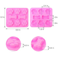 Puppy Paws Silicone Mold