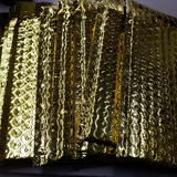 Bubble Mailer Gold Metallic 4x8 #000